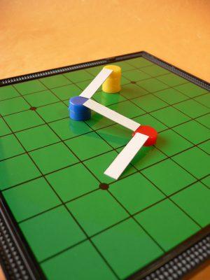 写真:スロープを説明する模型
