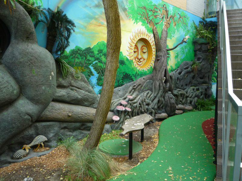 写真:別の病院の遊び場。ジャングルがテーマ