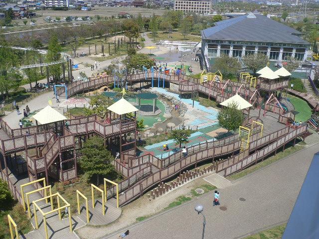 写真:戸田川子どもランドの全景