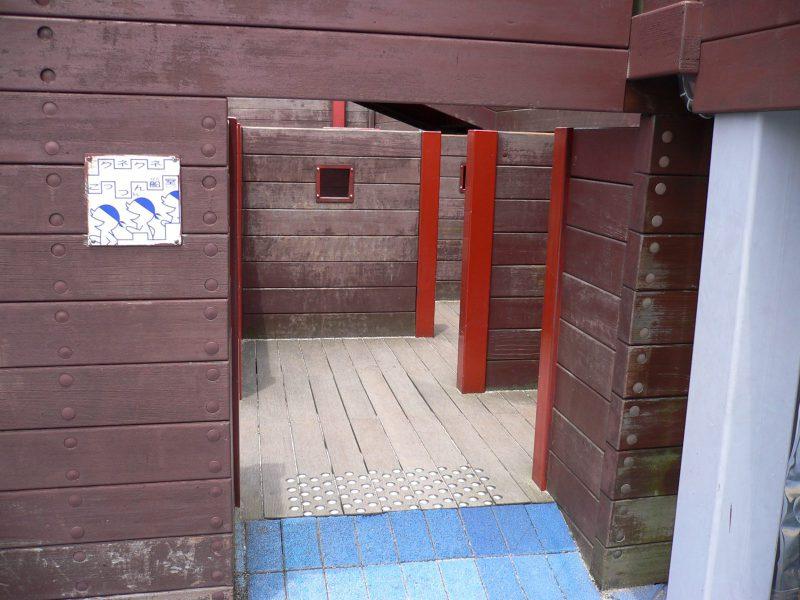 写真:迷路の入り口